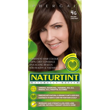 Naturtint Permanent Hair Colorant 4G- Golden Chestnut 5.4