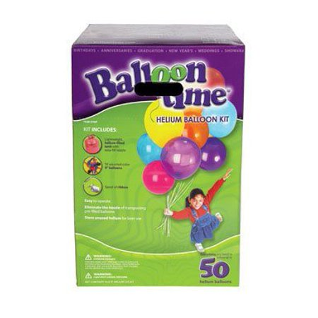 Balloon Time Helium Tank - Large Helium Tanks