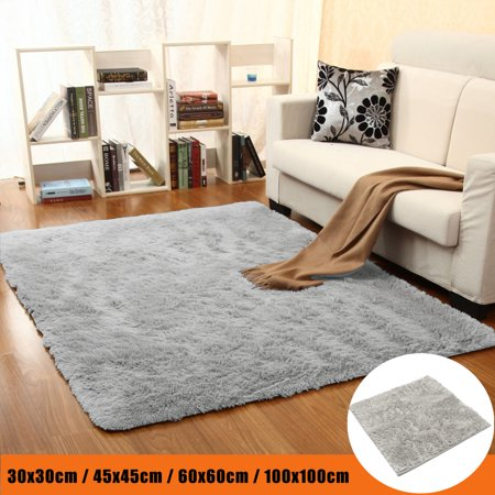 Tatami Floor Mat - Rectangle Area Rug Floor Mat Carpet Fluffy Floor Rug Anti-skid Shaggy Bedroom Cover Child Baby Play Mat Plush Carpet Home Dining Room Parlor Floor Tatami Pad 30cm / 45cm / 60cm / 1
