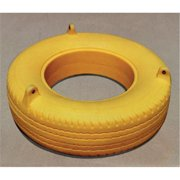 Jensen A145Y Commercial Plastic Tire Swing - Yellow