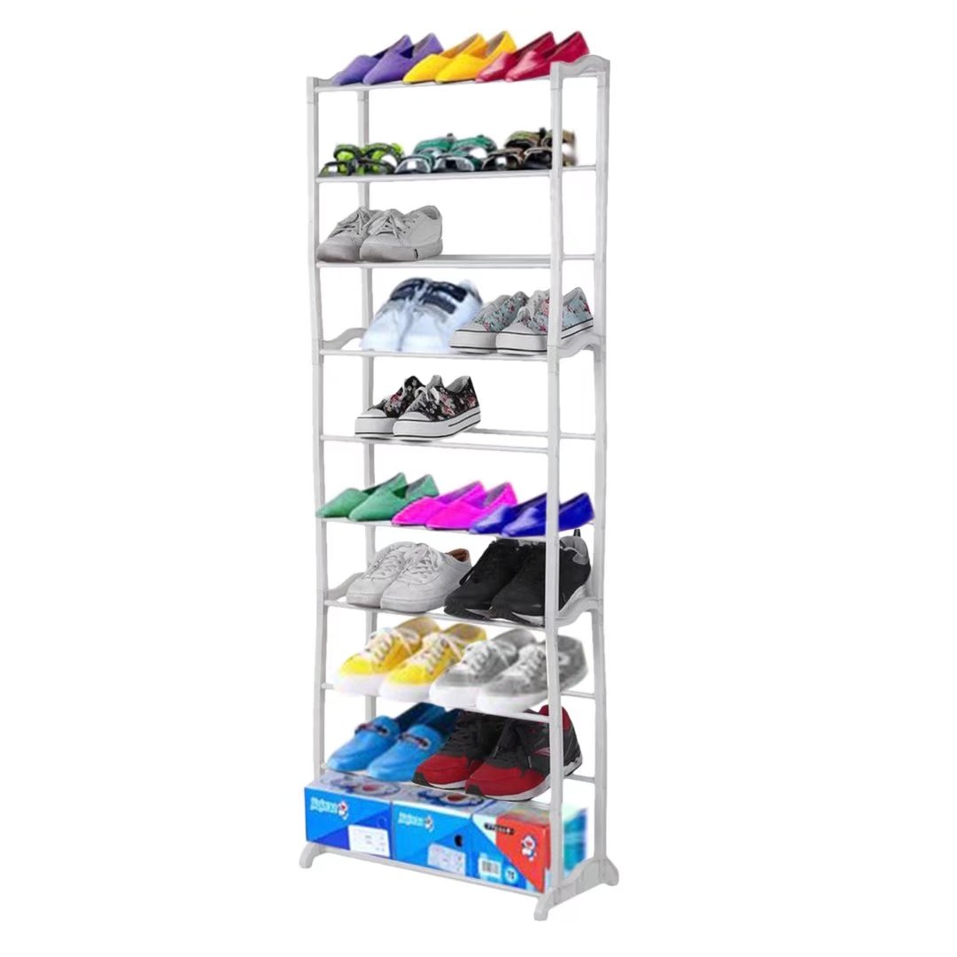 Oakeskaran OxGord 10-Tier Shoe Rack