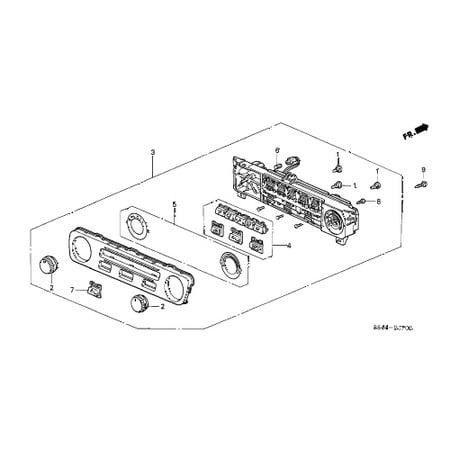 Honda 35851-SP1-901 Heater Control Bulb B Honda Accord Coupe Sedan Odyssey ()
