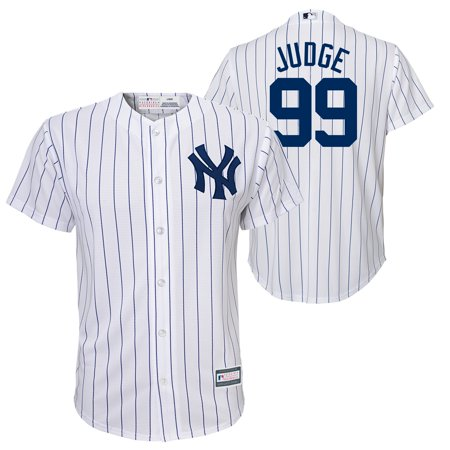 outlet store f5b47 73ccf Reebok Div./Outerstuff Youth Judge Yankees Home Jersey White ...