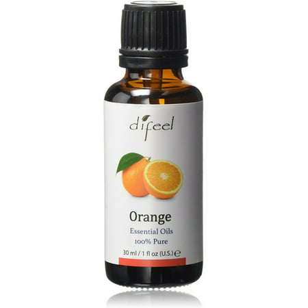Difeel 100% Pure Essential Oils, Orange 1 oz ()