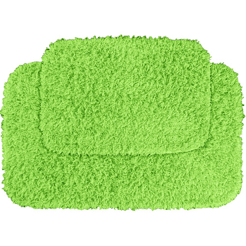 Garland Fiesta 2pc Shag Bath Rug Set by Generic