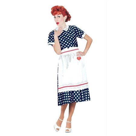 Costumes For All Occasions Xr40111Md I Love Lucy Polka Dot Dress Md