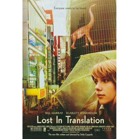 Pop Culture Graphics MOVEF3209 Lost in Translation Movie Poster Print, 27 x 40 - image 1 of 1