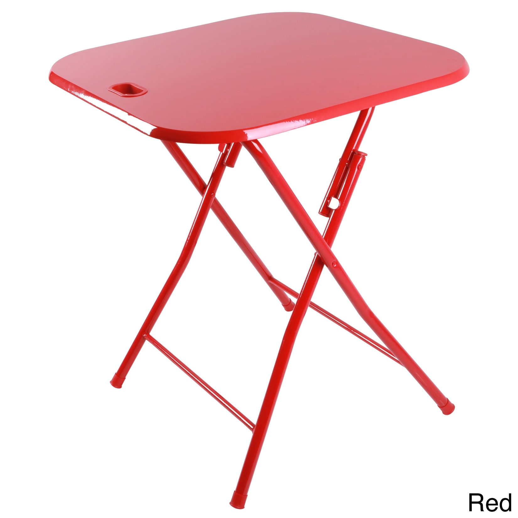 DarLiving urb SPACE Metal Folding Table with Handle