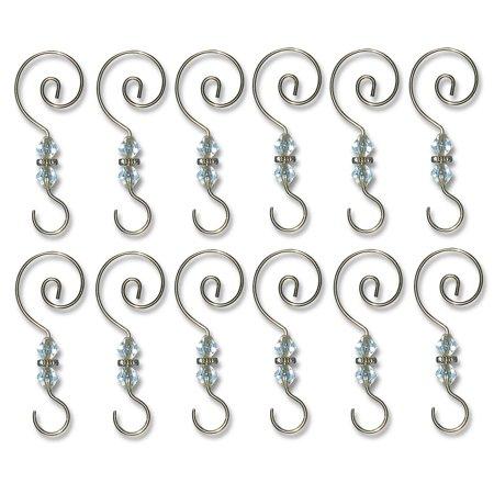 Decorative S Hooks - Set of 12
