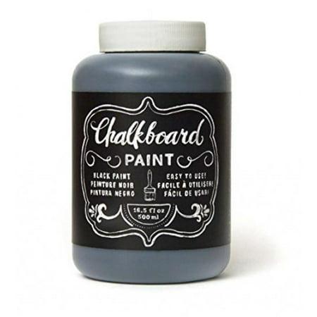 American Crafts Black Chalkboard Paint, 16.5 Oz.