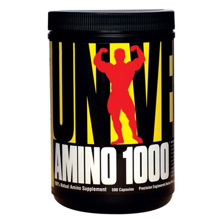 Universal Nutrition Amino 1000  500 Capsules