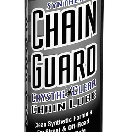 Crystal Clear Chain Guard - Maxima 77920 Crystal Clear Chain Guard - 13.5oz.