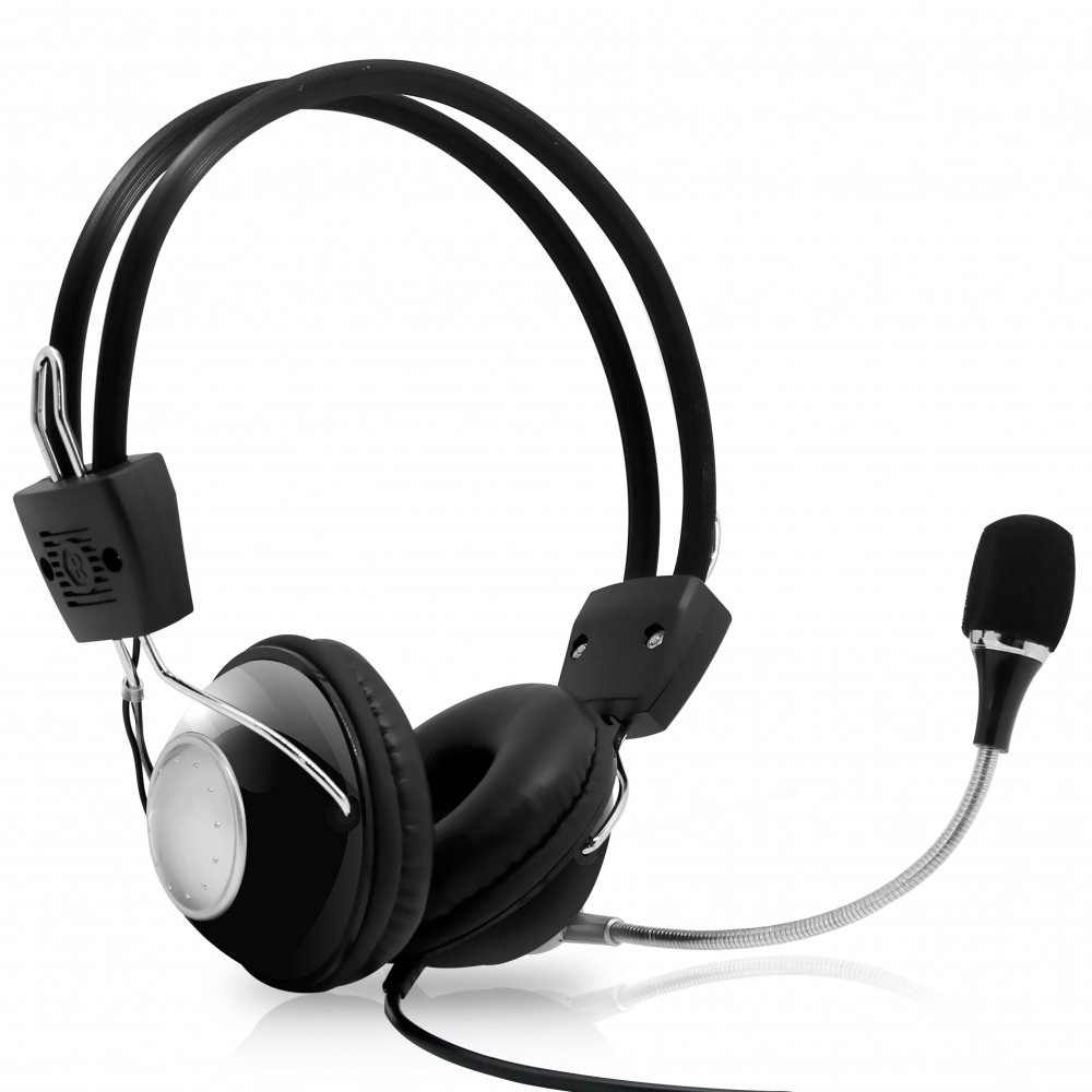 PYLE PHPMCU10 - Multimedia/Gaming USB Headset With Noise-Canceling Microphone