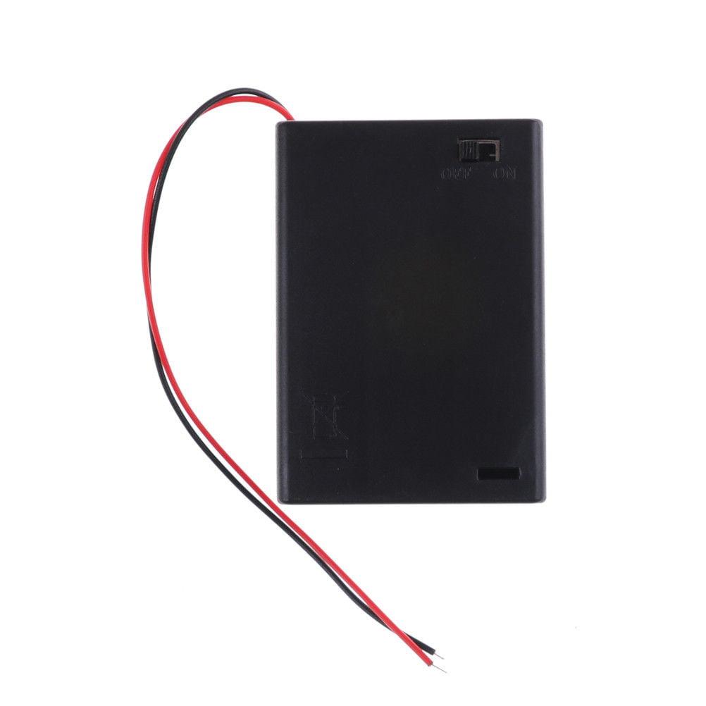 5 Slots AA Battery Box Battery Holder Board for 5 x AA Batteries DIY kit Case