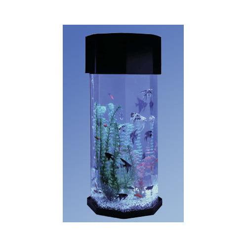 Midwest Tropical Fountain Aqua 10 Gallon Scape Octagon Aq...
