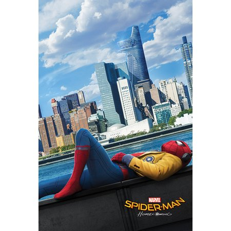 Spider Man  Homecoming   Movie Poster   Print  Teaser Style   Chilling   Size  24   X 36