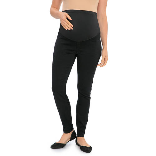Maternity Over The Belly Denim Jegging by Generic