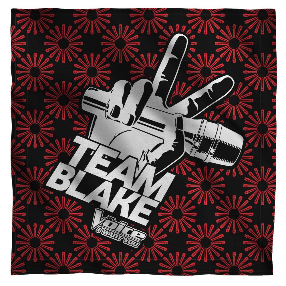 The Voice Team Blake Bandana  White One Size