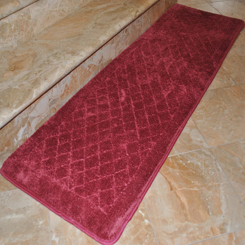 "Fashion Street Extra-Long Memory Foam Bath Rug, 1'8"" x 5'4"""