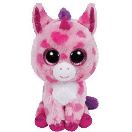 64d1634d026 Ty Inc Beanie Boo Plush Stuffed Animal Sugar Pie the Pink Unicorn 6