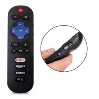 New Replaced Remote Control compatible with 28S3750 32FS3700 TCL ROKU LED HDTV TV with Netflix Amazon CBS Sling Keys