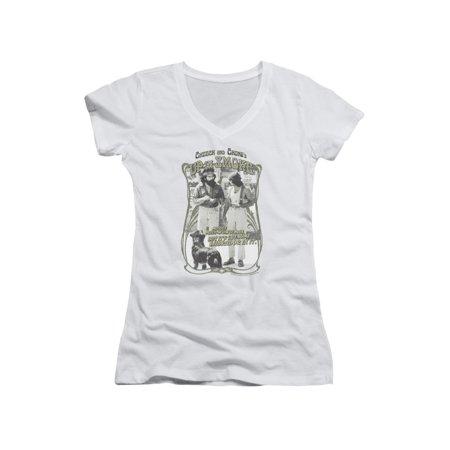 Up In Smoke Cheech Chong Stoner Comedy Film Labrador Juniors V-Neck T-Shirt Tee (Cheech And Chong Halloween Girls)