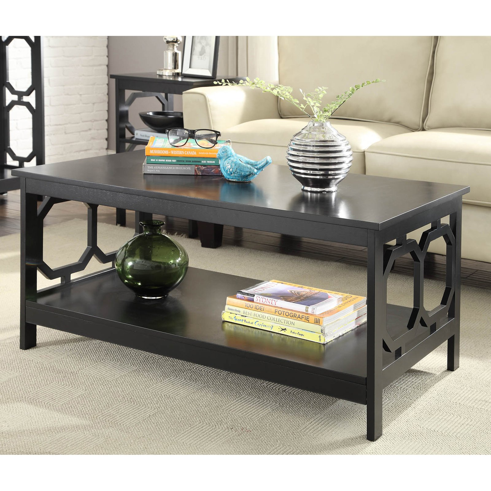 Convenience Concepts Omega Coffee Table, Multiple Colors
