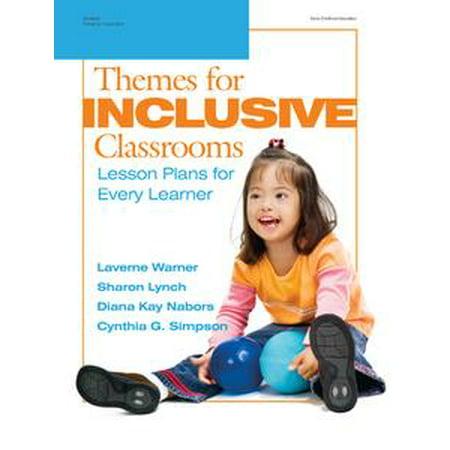 Themes for Inclusive Classrooms - eBook (Beach Theme Classroom)