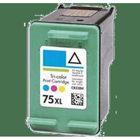 HP CB338WN (75XL) INK / INKJET Cartridge Tri-Color High Yield for HP PhotoSmart C4440 - image 1 de 1