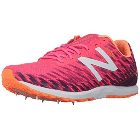 New Balance Women's 700V5 Removable Spike Track Shoes, Pink/Mulberry, 11 B
