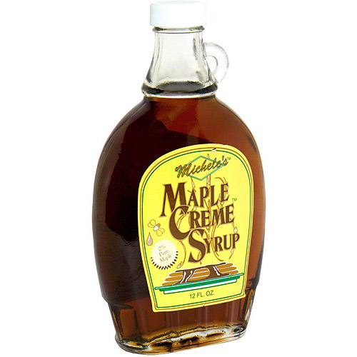 Michele's Maple Creme Syrup, 13 oz (Pack of 12)