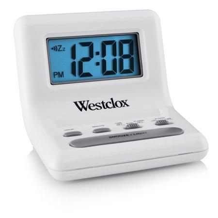 Alphanumeric Lcd Display - 47539A- Westclox White 0.8