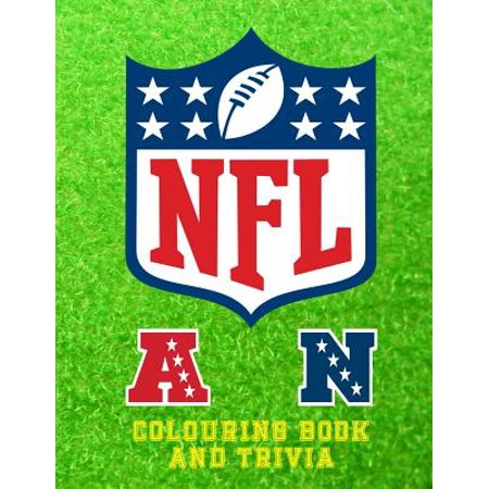 NFL Colouring Book and Trivia : This NFL Book Comprises of Images of the Logos, Insignias and the Helmets of Each Team to Colour and Trivia on All 32 Clubs in Both Leagues. the Interior Is in Colour and Is Great for Copying to Colour in the Images. an A4