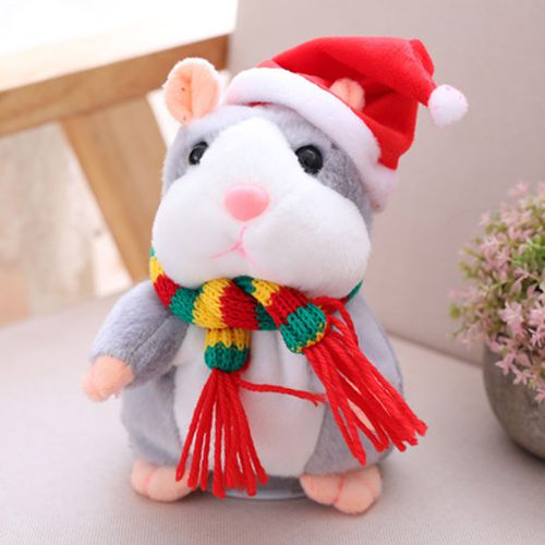 Cheeky Hamster Talking Mouse Pet Christmas Gift Speak Sound Record Xmas Toy