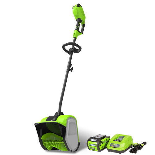 Greenworks 12-Inch 40V Cordless Snow Shovel, 4.0 AH Battery Included 2600702