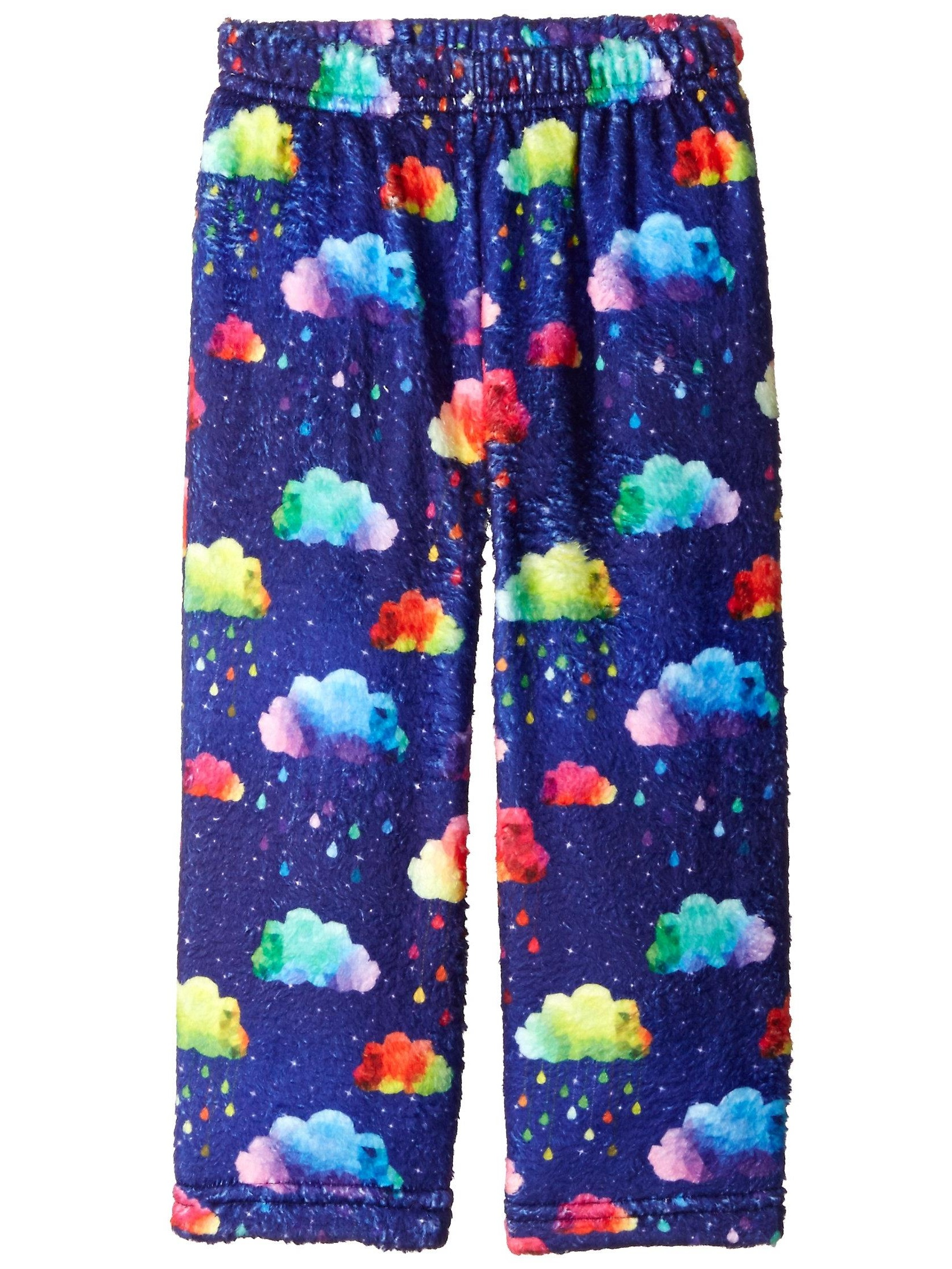up past 8 big girls'  fuzzy pajama pant