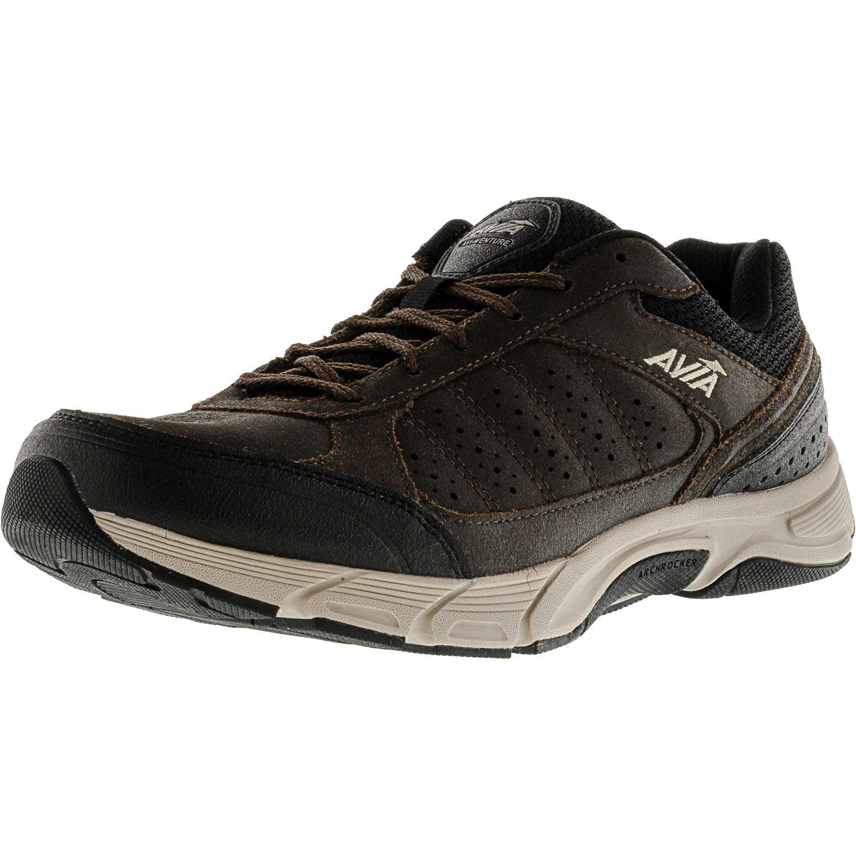 Avia Men's Avi-Venture Dark Brown   Black Ankle-High Trail Runner 9M by Avia