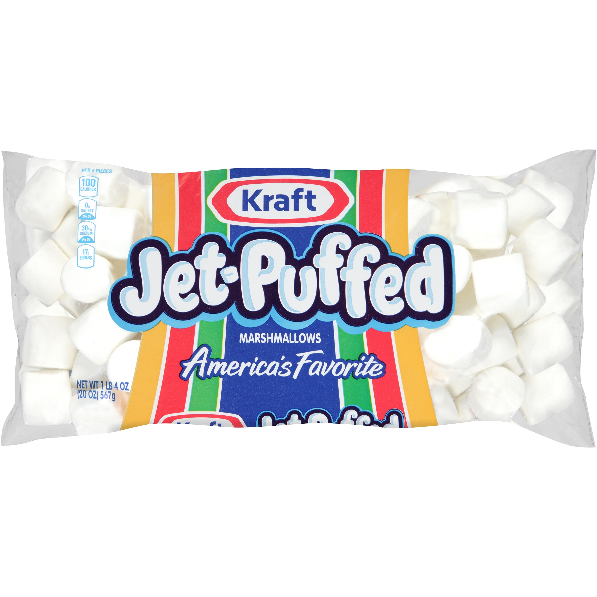 Kraft Jet-Puffed Marshmallows 20 oz, Bag