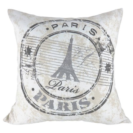Mainstays Paris Themed Decorative Pillow Walmart Best Paris Themed Decorative Pillows