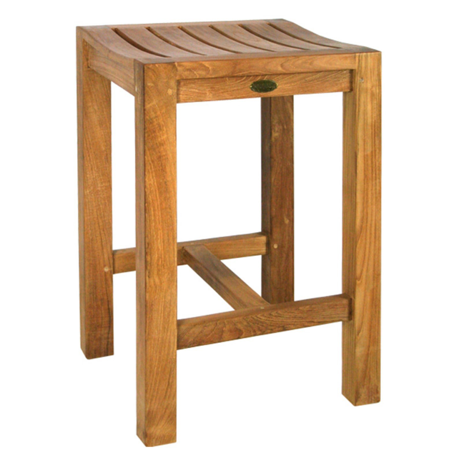 Chic Teak Santa Monica Teak Outdoor Counter Stool