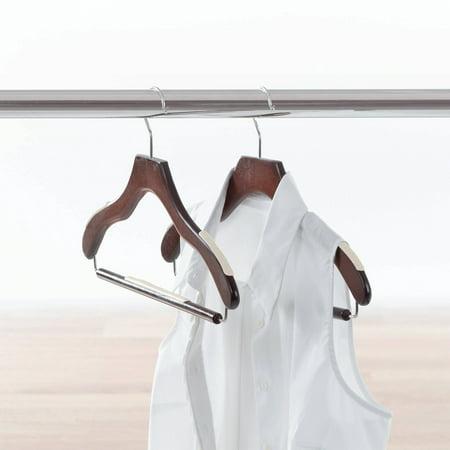 Neatfreak Non Slip Wood Hanger 24 Pack Walmart Com