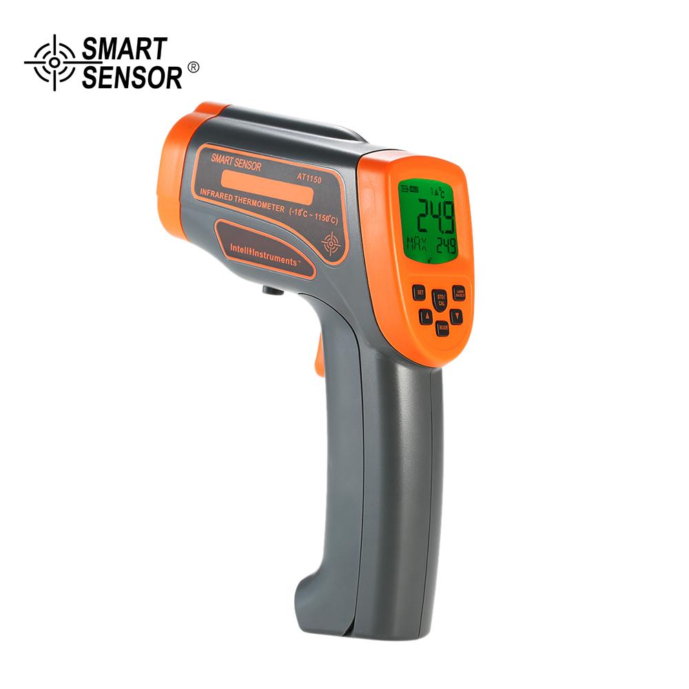 DIGITAL LCD DISPLAY HANDHELD NON CONTACT IR INFRARED THERMOMETER GUN PYROMETERS