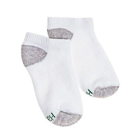 Hanes Boys` EZ-Sort 11-Pack No-Show Socks, L, White - image 1 de 1