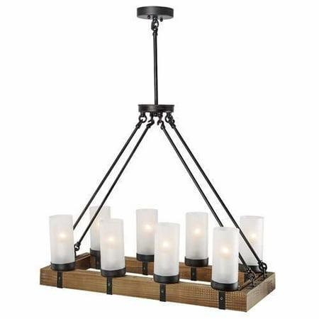 Lnc Home  Light Wood Kitchen Island Pendant