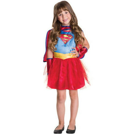 Supergirl Child Tutu Dress Halloween Costume](Supergirl Tutu Costume)