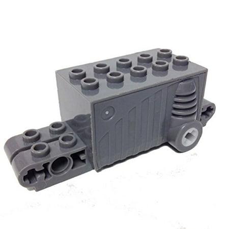 Lego Parts  Pullback Motor 9 X 4 X 2 2 3  Dark Bluish Gray