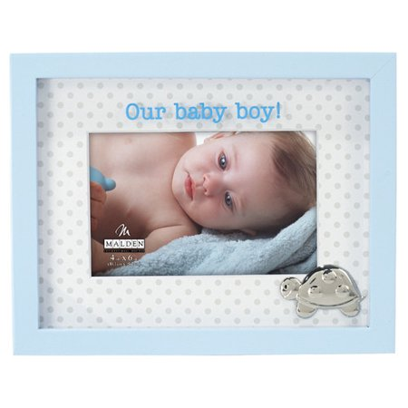 Malden Our Baby Boy Shadowbox Picture Frame