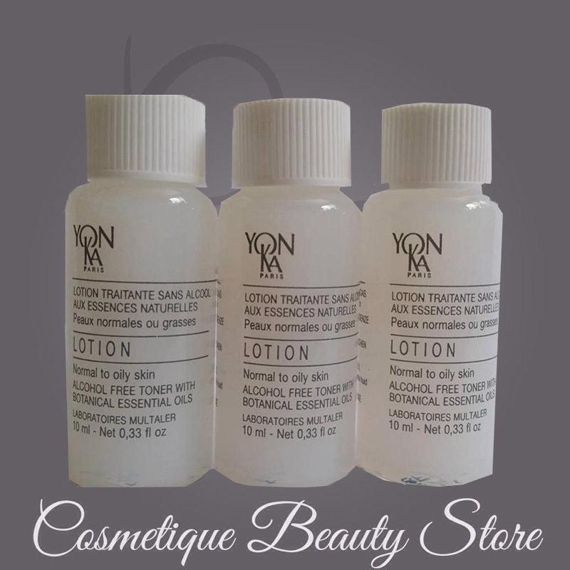6X Yonka Lotion PG Normal to Oily Skin WHITE SAMPLE 6 X 10ml/60ML=2 OZ TOTAL