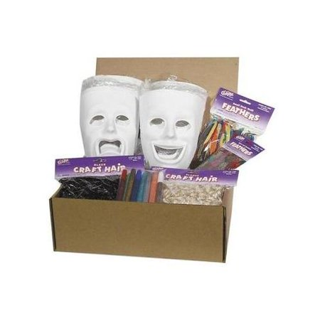 ChenilleKraft Plastic Masks Activities Kit CKC1720