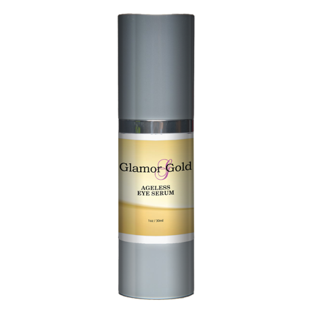 Glamor Gold Eye Serum - Best Under Eye Treatment for Fine Lines and